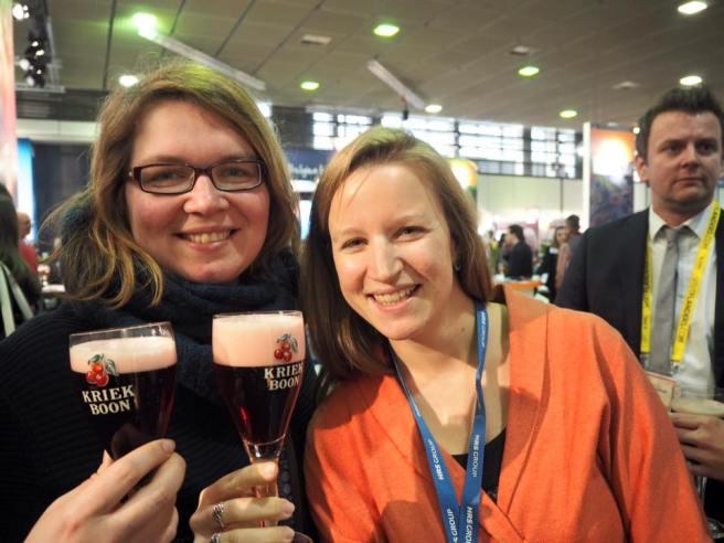 In Flandern haben Elena und ich Kirschbier probiert. Foto @Creativelena.com