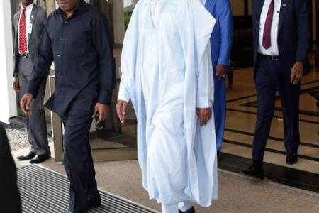 Why Ex-President Goodluck Jonathan Visited President Buhari Today, Alison-Madueke Trial In The Picture