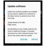 Samsung Galaxy S7 Edge – första uppdateringen släppt