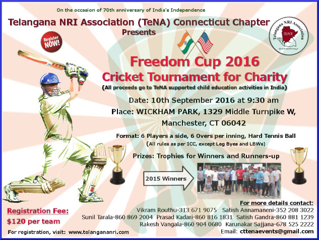 Freedom Cup 2016 TeNA CT