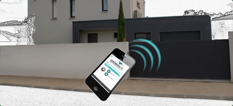 Utiliser son smartphone ou tablette pour commander le for Telecommande ouverture garage