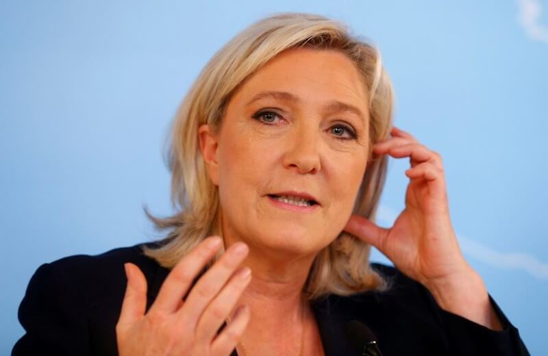 ... Need the Congratulations of Far Right Groups like Marine Le Pen's