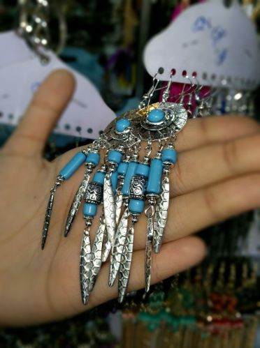 Dream catcher earings