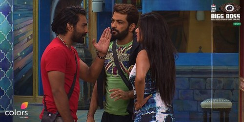 Manveer, Manu and Mona Lisa