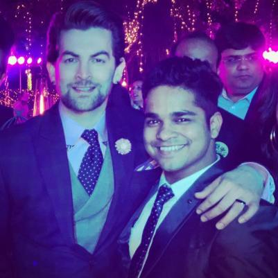 Choreographer Kartik Mohan With Actor Neil Nitin Mukesh
