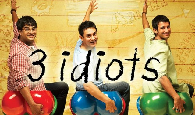 3 idiots, bollywood comedy