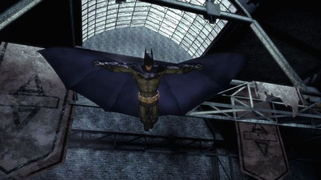 Batman Arkham Asylum Cape Physics