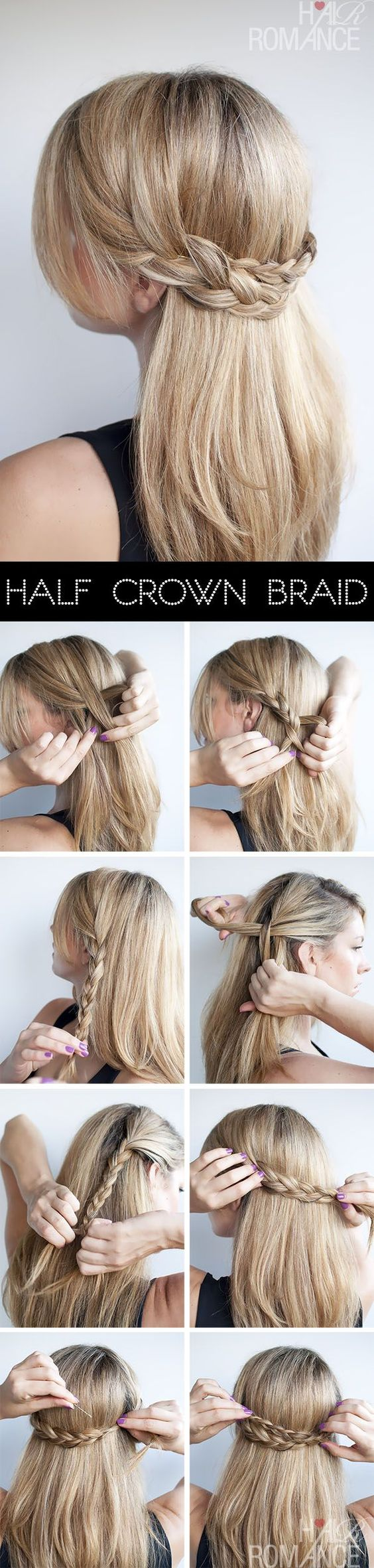 easy hairstyles, hairstyles, pinterest, tutorials, hairstyles for amareurs