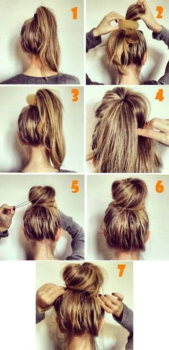 Easy Hairstyles For Amateurs, hairstyles, pinterest, tutorials, hairstyles for amareurs
