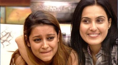 Image Courtesy : Bollywood Life Pratyusha Banerjee With Kamya Panjabi