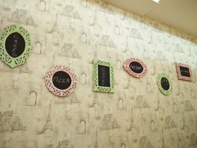 A cute decorated wall at Vrinda Dawda's Sweetest Sin