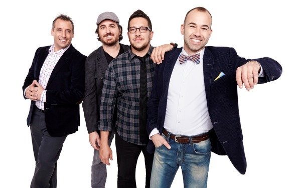 Impractical Jokers, Sal, Murr, Q, Joe, Reality Series, truTV, Joke Show, pranksters, comic