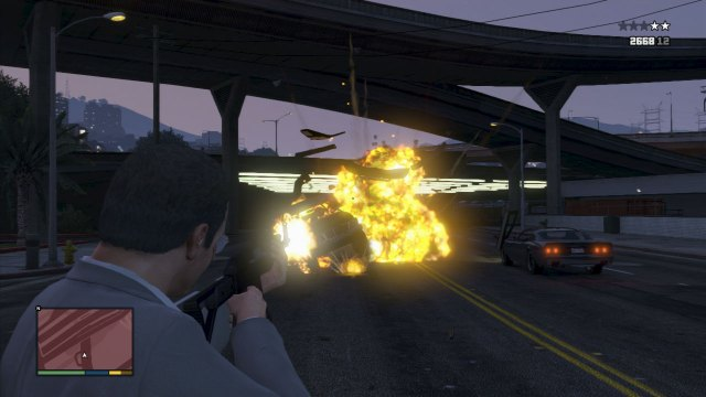 gravity, GTA V, explosive ammo, cheats, hacks,gta v cheats, Invincibility, Max Health and Armour, Weapons, Super Jump, Moon Gravity, Recharge Ability, Spawn Rapid GT, Flaming Bullets, Lower Wanted Level, Explosive Melee Attacks, PS3/ PS4, Xbox One/ Xbox 360