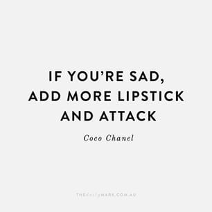 Gabrielle Bonheur Chanel, Coco, fashion, designs, elegance, inspiring, outspoken, memorable, savage, box, irresistible, lipstick, red, success, attitude, modest, self, black, life