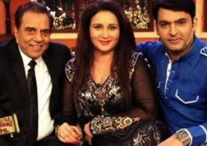 Poonam Dillion and Dharmendra on Comedy Nights with Kapil
