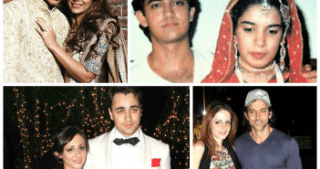 Bollywood stars with their wives