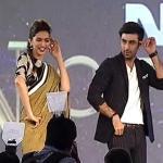 Deepika and Ranbir's dance move
