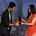 Ranbir presenting Soundarya