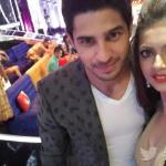 Siddharth and Drashti Selfie