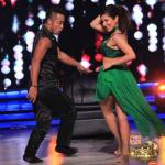 Sophie dances elegantly in freestyle form with Deepak