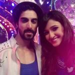 Shakti Mohan's selfie with her choreographer - Tushar