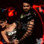 Ashish dances with her partner with much intensity
