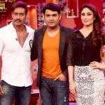Ajay and Kareena elegant selfie with Kapil