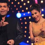 Karan and Sophie in an elegant dance move