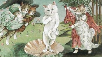 thumb-もしも絵画の中の人が猫だったら・・・