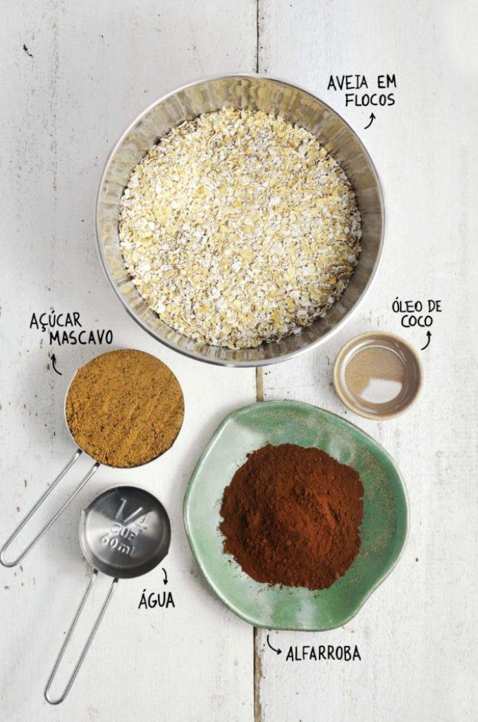 Ingredientes cookie vegano