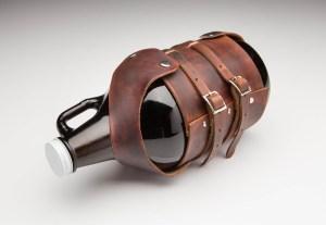 Beerloved - LeatherGrowlerCarrier