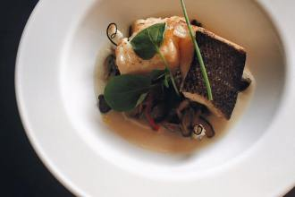 The Primal Gourmet: Chilean Sea Bass with Cured Quail Egg Yolk