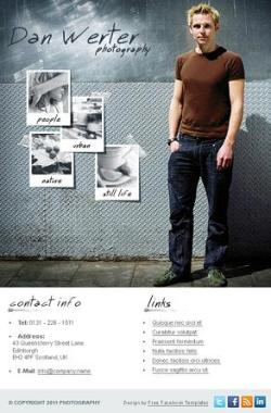 business facebook template