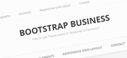 more free premium bootstrap drupal themes feature