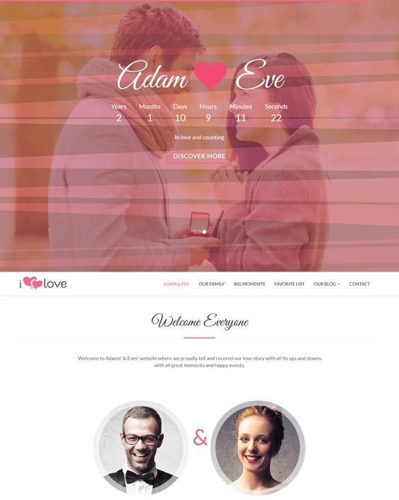 ilove wordpress theme for events