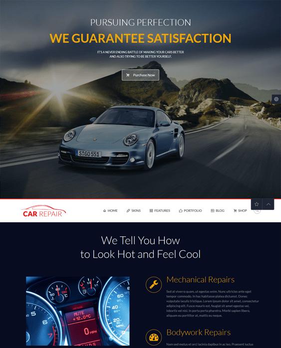 punto car vehicle automotive wordpress theme