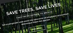 green eco-friendly organic joomla themes feature