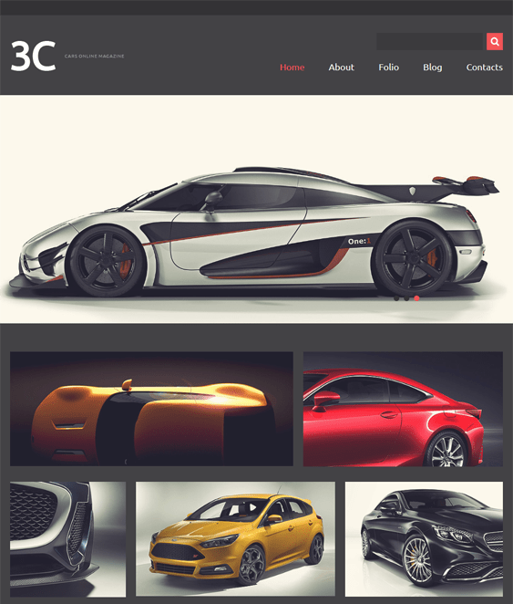 enthusiasts car vehicle automotive joomla templates