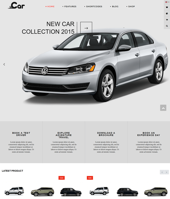 zt car car vehicle automotive joomla templates