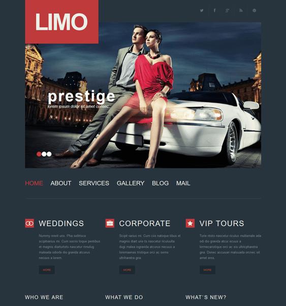 limousine services car vehicle automotive wordpress themes