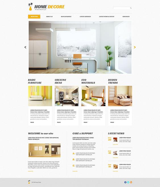 home decor wordpress furniture themes