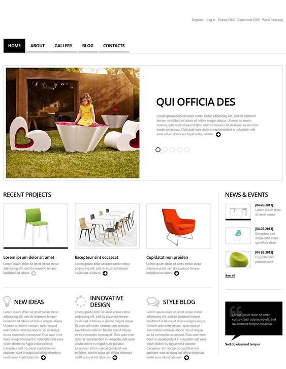 interior1 wordpress furniture themes