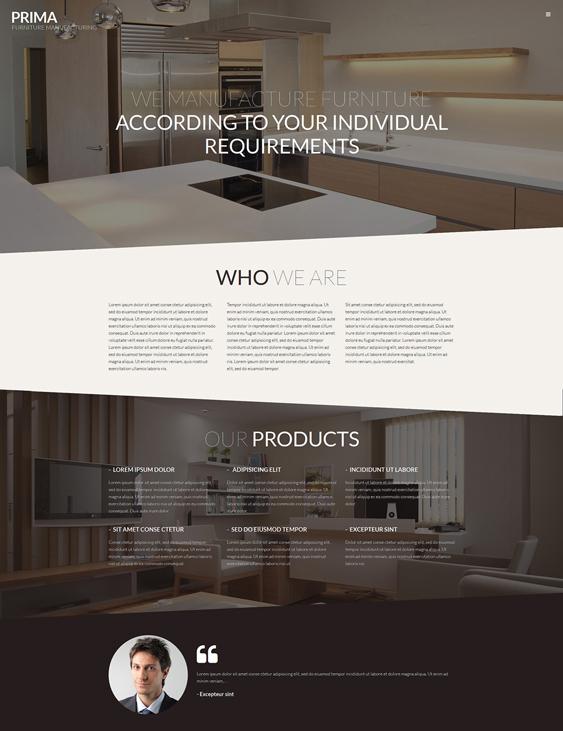 interior2 wordpress furniture themes