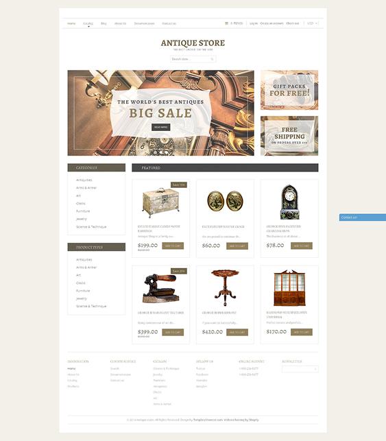 furniture antique home decor interior design opencart themes