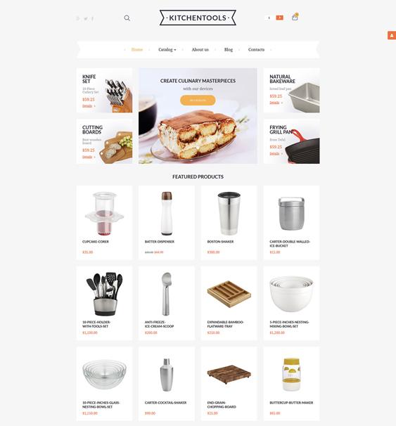 housewares minimal virtuemart themes