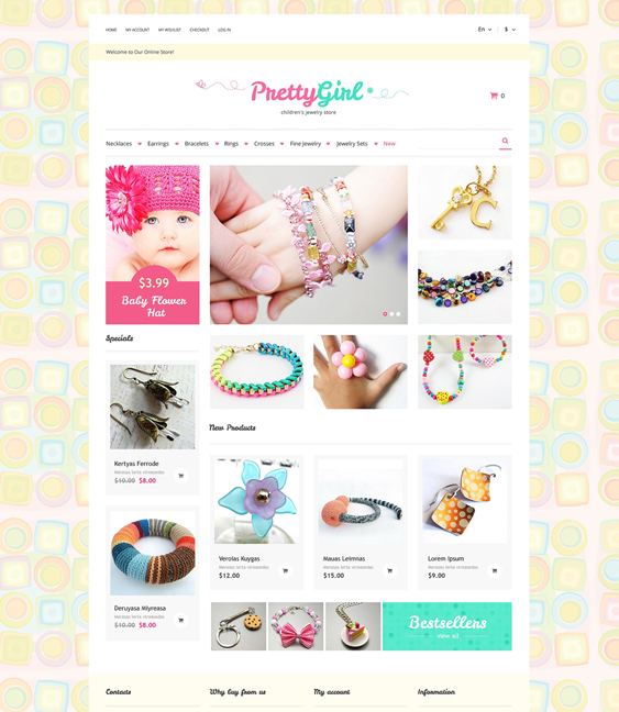 kids1 magento themes jewelry stores