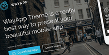 more best wordpress themes promoting apps feature