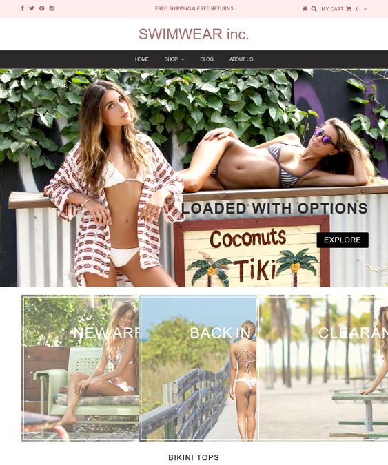 testament swimwear shopify themes