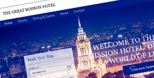 best free wix hotel templates feature