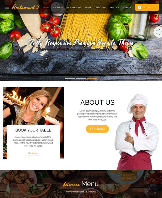 it restaurant j2store templates